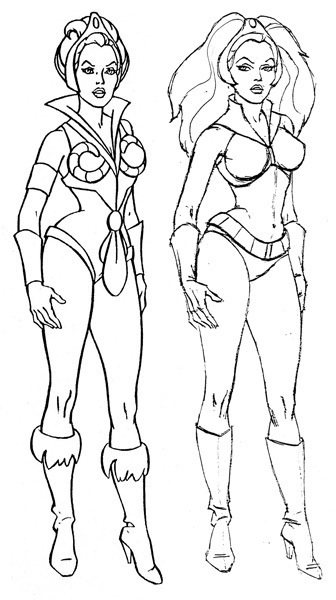 He man and the masters of the universe season 1 for Flash gordon coloring pages